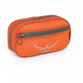 Osprey Ultralight Zip Washbag Poppy Orange