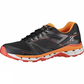 Haglofs Haglofs Mens Observe Gtx Surround Shoe True Black/Habanero