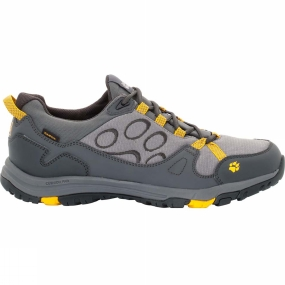 Jack Wolfskin Jack Wolfskin Mens Activate Texapore Low Shoe Burly Yellow Xt