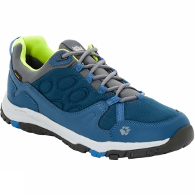 Jack Wolfskin Jack Wolfskin Mens Activate Texapore Low Shoe Poseidon Blue
