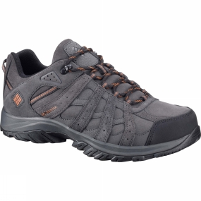 Columbia Mens Canyon Point Leather Omni-Tech Shoe