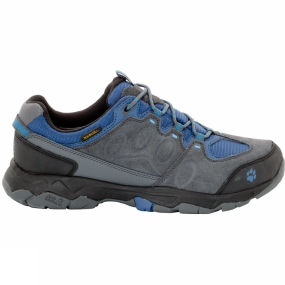Jack Wolfskin Jack Wolfskin Mens MTN Attack 5 Texapore Low Shoe Dark Iron/Ocean Wave