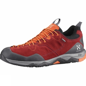 Haglofs Haglofs Mens Rocker Leather GT Shoe Rubin/Cayenne