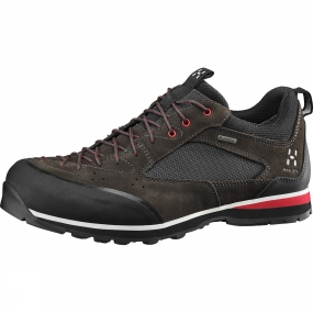 Haglofs Mens Roc Icon GT Shoe Magnetite / Real Red