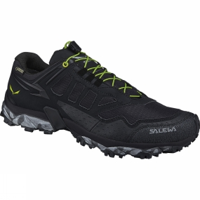 Salewa Salewa Mens Ultra Train GTX Shoe Black / Swing Green