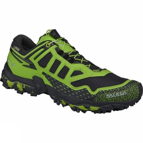 Salewa Salewa Mens Ultra Train GTX Shoe Black Out / Green