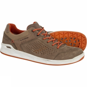 Lowa Lowa Mens San Francisco GTX Shoe Brown/Orange
