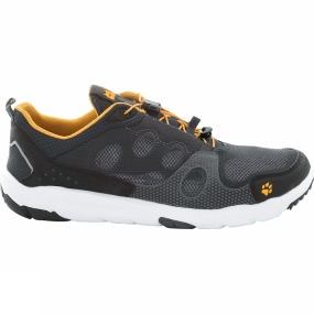 Jack Wolfskin Jack Wolfskin Mens Monterey Air Low Shoe Phantom/Burly Yellow