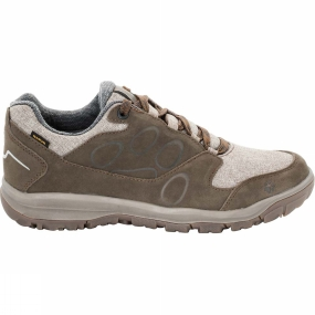 Jack Wolfskin Jack Wolfskin Mens Vancouver Texapore Low Shoe Rocky Brown