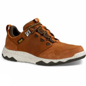 Teva Teva Mens Arrowood Lux Waterproof Shoe Cognac