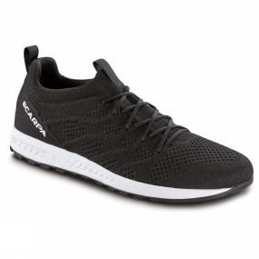 Scarpa Scarpa Mens Gecko Air Shoe Black/White