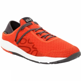 Jack Wolfskin Jack Wolfskin Mens Seven Wonders Packer Low Shoe Lava Orange