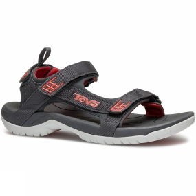 Teva Teva Mens Tanza Sandal Dark Shadow / Red