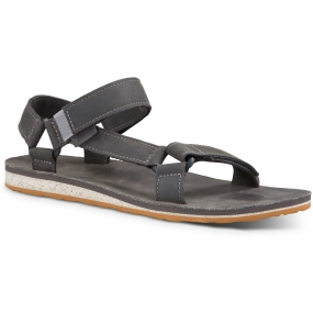 Teva Teva Mens Original Universal Premium Leather Sandal Grey