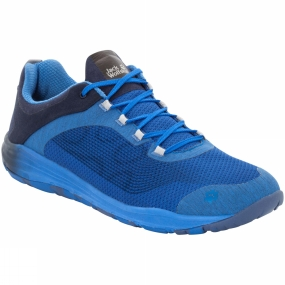 Jack Wolfskin Jack Wolfskin Mens Portland Chill Low Shoe Wave Blue