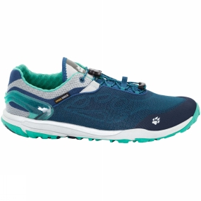 Jack Wolfskin Jack Wolfskin Mens Crosstrail Shield Low Shoe Moroccan Blue