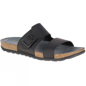 Merrell Mens Downtown Slide Buckle Sandal