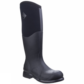 Muck Boot The Colt Ryder Boot from Muck Boots helps you go from saddle to stall. These tall protective equestrian boots efficiently keep riders warm and dry. They comfortably pull over the calf and offer excellent coverage while riding. A favourite of many equestrian enthusiasts.
