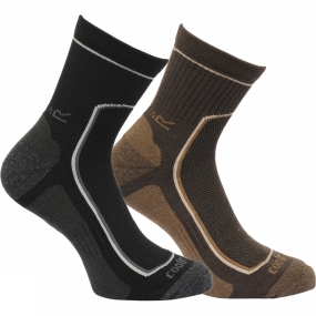 regatta-mens-active-lifestyle-sock-2-pairs-black-clove