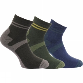 Regatta Mens Active Lifestyle Sock (Pack of 3)