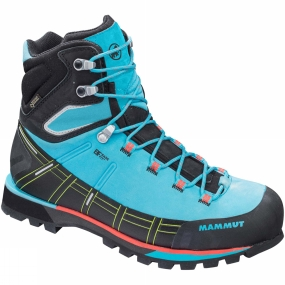 Mammut The Womens Kento High GTX from Mammut is a pair of boots that are great for wheverer your hike takes you be it over rocky terrain or through forest paths & trails.