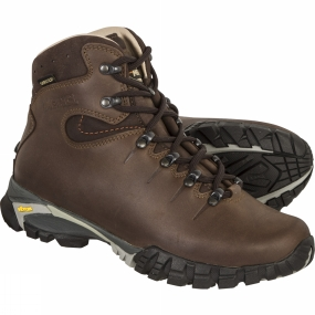 Meindl Developed to suit hikes in lower level mountain regions, the Toronto Lady GTX delivers support, grip and weather protection combined with out-of-the box comfort.In the Toronto, supple leather uppers are backed up by a Gore-Tex membrane to ensure your feet stay dry, and the soft leather lining adds a luxurious feel to the support from the ankle collar. Intended for less demanding terrain, the Toronto can afford to be soft and comfortable from the off, while still providing support.Underfoot, Vibram
