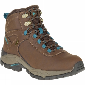 Merrell Womens Vego Mid Leather Waterproof Boot