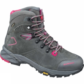 Mammut The Womens Nova Tour High GTX from Mammut is a pair of boots that are great for wheverer your hike takes you be it over rocky terrain or through forest paths & trails.