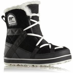 Sorel Sorel Womens Glacy Explorer Shortie Black