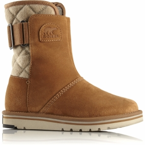 Sorel Sorel Womens Newbie Short Boot Elk/British Tan