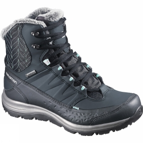 Salomon Salomon Womens Ka�na Mid GTX Boot Deep Blue / Slateblue