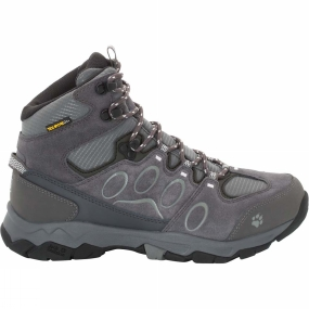 Jack Wolfskin Jack Wolfskin Womens Mountain Attack 5 Texapore Mid Boot Grey Haze