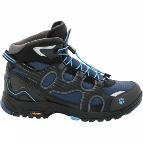 Jack Wolfskin Jack Wolfskin Womens Crosswind WT Texapore Mid Boot Black/Light Sky