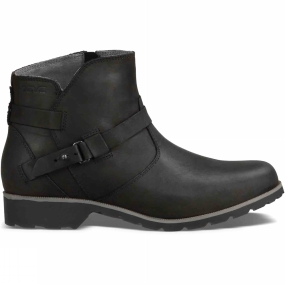 Teva Teva Womens De La Vina Ankle Boot Black