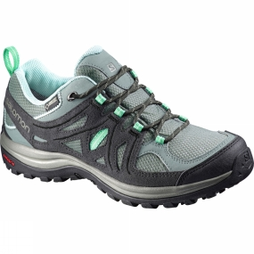 Salomon Salomon Womens Ellipse 2 GTX Shoe Light TT/Asphalt/Jade Green