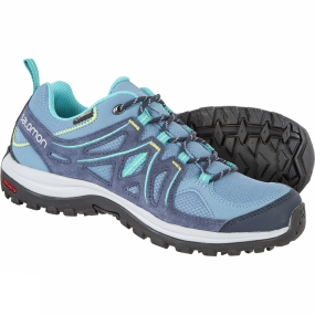 Salomon Salomon Womens Ellipse 2 GTX Shoe Rainy Blue/Slateblue/Teal Blue F
