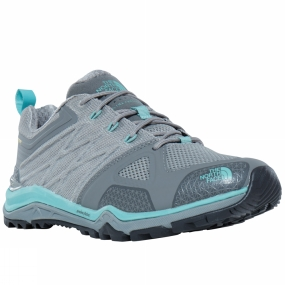 The North Face The North Face Womens Ultra Fastpack II GTX Shoe Moon Mist Grey / Agate Green
