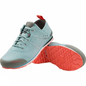 Mammut Womens Sloper Low Canvas Shoe Air/Barberry