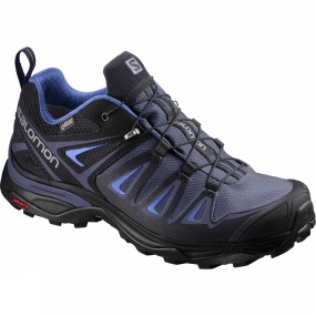 Salomon Salomon Womens X-Ultra 3 GTX Shoe Crown Blue/India Ink/Amparo Blue