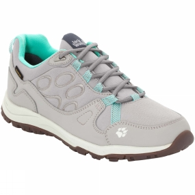 Jack Wolfskin Jack Wolfskin Womens Activate Texapore Low Shoe Pale Mint