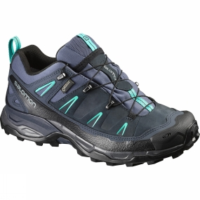 Salomon Salomon Womens X Ultra LTR GTX Shoe Slateblue / Deep Blue