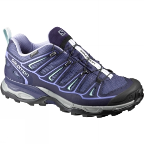 Salomon Womens X Ultra 2 GTX Shoe Crown Blue/Evening Blue/Easter Egg