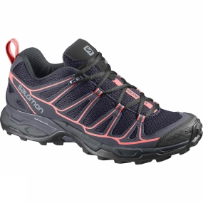 Salomon Salomon Womens X Ultra Prime Shoe Nightshade Grey / Deep Blue