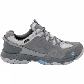Jack Wolfskin Jack Wolfskin Womens Mountain Attack 5 Texapore Low Shoe Tarmac Grey/Cool Water