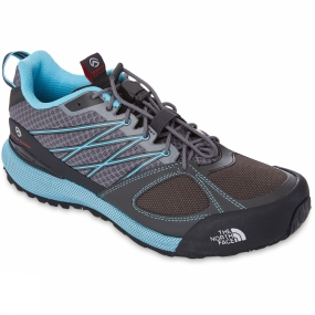 The North Face Womens Verto Approach II Shoe Pache Grey/Fortuna Blue