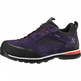 Haglofs Haglofs Womens Roc Icon GT Shoe Acai Berry / Habanero
