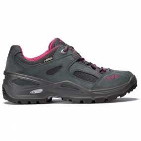Lowa Lowa Womens Sirkos GTX Shoe Anthracite/Berry