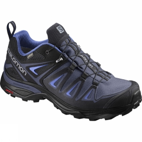 Salomon Salomon Womens X Ultra 3 GTX Shoe Crown Blue/India Ink/Amparo Blue