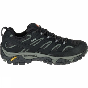 Merrell The Womens Moab 2 GTX Shoe from Merrell is designed for out-of-the-box comfort. With its durable synthetic leather upper, supportive footbed, and Vibram traction rubber sole, as soon as you put them on, you will find out why Moab stands for Mother-Of-All-Boots.
