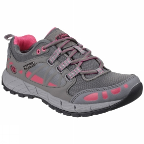 Cotswold Cotswold Womens Pitchcombe Shoe Grey/Pink